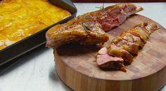 Roasted leg of lamb with garlic, rosemary and anchovy | MasterChef Australia #MasterChefRecipes