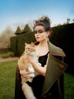 Helena Bonham Carter for Harper's Bazaar UK June 2016