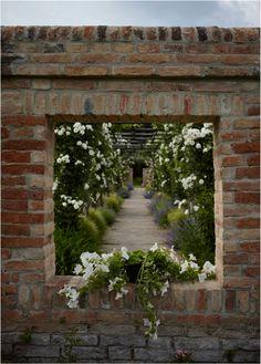 great garden window. gorgeous