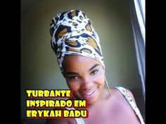 Tutorial de Turbante 4: Inspirado na Erykah Badu