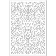 Headboard material home depot Acurio Latticeworks Ginger Dove 32 in. x 4 ft. White Vinyl Decorative Screen Panel - - The Home Depot Vinyl Decor, Wall Decor, Home Depot, Cheap Home Decor, Diy Home Decor, Decorative Screen Panels, Decorative Metal, Decorative Items, Decks And Porches