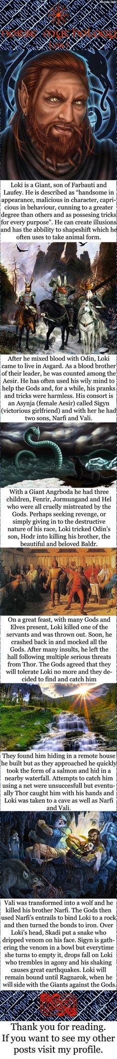 Norse mythology - Loki