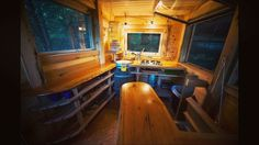Tiny kitchen of the #observatory #treehouse in #redrivergorge. Link to rent in bio. #explorekentucky 📷 by @pmcdphoto