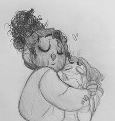 He needs a hug