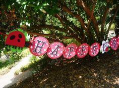 Ladybug Birthday Garland Custom 1st birthday by EMTsweeetie