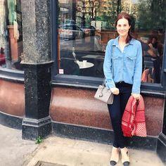 Look da Vic: Jeans Mixed, camisa Zara / bolsa Saint Laurent. Vic Ceridono | Dia de Beauté