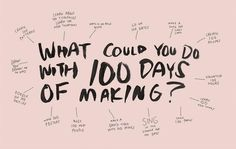 Change Your Life in 10 Minutes If you were going to commit to doing one thing every day for the next 100 days, what would it be?