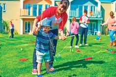 Join our Redcoats on the West Lakes Village green for some fun and games each day of your stay! #ButlinsChalets