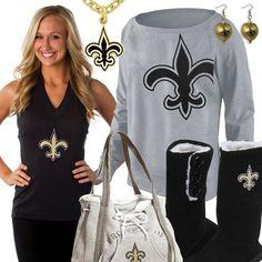Cute New Orleans Saints Fan Gear