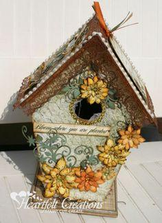 Heartfelt Creations | Sunflower Blooming Birdhouse