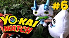 Yokai Watch Komasan plush.  Komasan finds animal trappers in the woods. He gets Whisper and Jibanyan to help him free the animals.