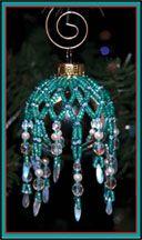 Mini Sparkling Ornament Cover by Rita Sova