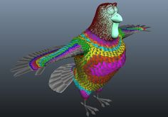 Reel FX Creates Feather System for 'Free Birds'