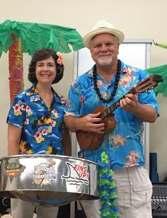 Bry and Linda play for Aloha to Aging fundraiser