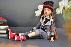 Collectible doll - Fairy Doll  - Art doll  -  OOAK doll - pumpkin - craft dolls