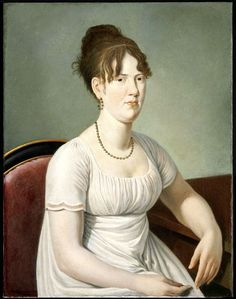 Maria Sutherland, by William Berczy (1805-1806)