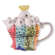 Sardine Teapot