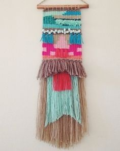 Image of Sea and Sunurn Weave // i am really digging these woven wall pieces from chief & kewpie. might have to order one in the near future….