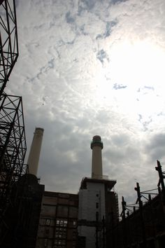 Battersea Power Station in Battersea, Greater London #Battersea