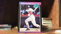 DONRUSS 1989 CARLOS QUINTANA CARD#37 RATED ROOKIE BOSTON RED SOX,