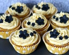 Lemon and poppy seed cupcakes recipe