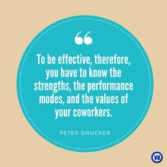 #Quote #HR #Strength #Value Peter Drucker
