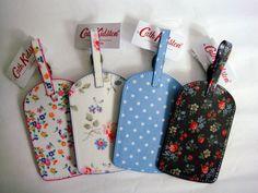 Cath Kidston luggage tags