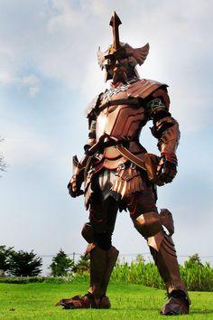 Kushala Daora Blade Master armor, from Monster Hunter