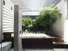 Jalan Angin Laut house in Singapore with pool sanctuary