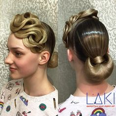 "396 Likes, 4 Comments - Кристина Ефимова (@style.by.kri) on Instagram: ""@anna_kormyshenkova Hairstyle by me#ballroom #ballroomdance #ballroomdancing #wdc #wdsf #стср…"""