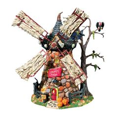 Department 56 Snow Village Haunted Windmill * Continue to the product at the image link.