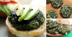 Estas hamburguesas son ricas en proteínas, bajas en hidratos de carbono y completamente deliciosas. La espinaca se destaca por su alto valor nutritivo. Además, es una excelente fuente de hierro, por lo cual ayuda a prevenir la anemia. Por poseer mucho potasio y poco sodio, es perfecta para aquellas personas que sufren de hipertensión arterial. Conoce más acerca de las propiedades de los vegetales de hoja verde haciendo clic aquí.      Preparación 1. Mezcla todos los ingredientes en un…