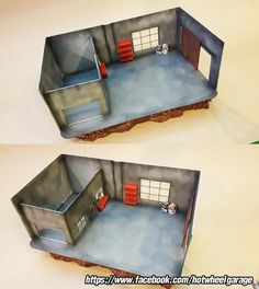 Diorama : Garage Rust