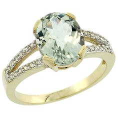 10K Yellow Gold Diamond Halo Natural Green Amethyst Ring Oval 10x8mm, size 8 by Gabriella Gold - See more at: http://blackdiamondgemstone.com/colored-diamonds/jewelry/rings/bands/10k-yellow-gold-diamond-halo-natural-green-amethyst-ring-oval-10x8mm-size-8-com/#sthash.6E69NOIC.dpuf
