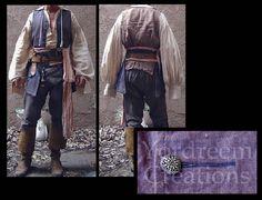 POTC / Capt. Jack   Yordreem Creations Jack Sparrow Costume, Captain Jack Sparrow, Pirates Of The Caribbean, Batman, Cosplay, Costumes, Women, Board, Dress Up Clothes