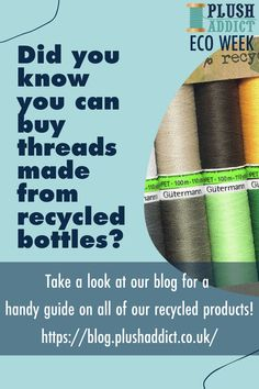 Check out the blog for a complete guide on all of the recycled products available on our website! ♻️ 🌳 Plastic Bottle Crafts, Recycle Plastic Bottles, Recycled Crafts, Recycled Fabric, Recycled Products, Modern Tools, Pet Bottle, Recycled Bottles, Plastic Waste