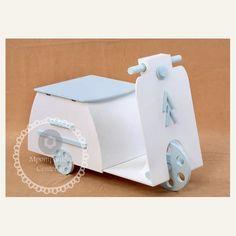 Κουτί βάπτισης Vespa με αποθηκευτικό