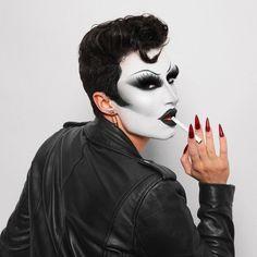 Drag Queen Makeup, Drag Makeup, Edgy Makeup, Beauty Makeup, The Bonnie, Rupaul Drag, Aesthetic Makeup, Makeup Inspiration, Makeup Ideas