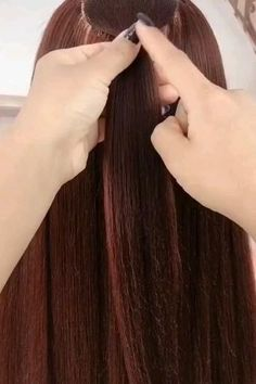 Bun Hairstyles For Long Hair, Braids For Long Hair, Headband Hairstyles, Braided Hairstyles, Open Hairstyles, Front Hair Styles, Medium Hair Styles, Hair Style Vedio, Hair Streaks