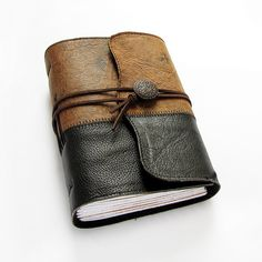 handmadebooks: leather journals and soft fabric journals