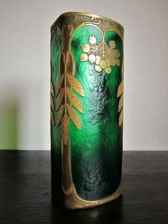 Legras, Montjoye, Saint-Denis - Art Deco style vase