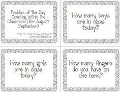 A Turn to Learn: Kindergarten Problem Solving Skills! (Freebies!)