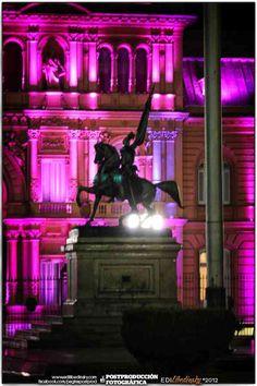 Nocturnas en Plaza de Mayo