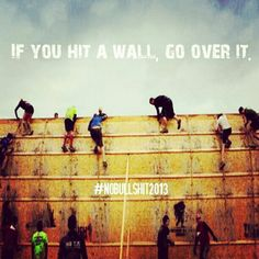 Have your friends ever tried to talk you into doing Tough Mudder? Did you check out the web site and immediately say no effing way! I'd say that is a pretty normal response, but I think you … Fitness Motivation, Fitness Quotes, Daily Motivation, Motivation Inspiration, Fitness Inspiration, Motivation Quotes, Exercise Motivation, Running Motivation, Workout Quotes