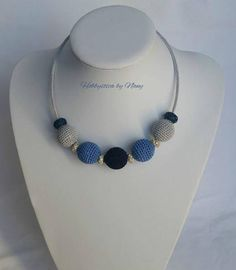 https://www.facebook.com/Hobbystica/ #lemaddine #necklace #crochet #uncinetto #jewelry