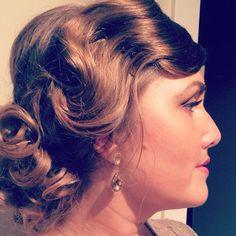 @muffinza love my gala up do!! #charlottecurvemodel #hair #elegance #greatgadsby