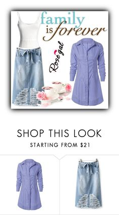 """""""Rosegal 56"""" by melikasalkic ❤ liked on Polyvore"""