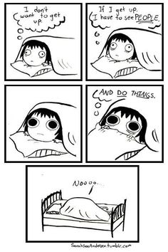 I'm sure most of us can relate...... Yep some mornings (past 3 mornings especially...but now exams are done so lol...  - tiff)