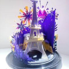 Brittney Lee Paper Craft Eiffel Tower Paris