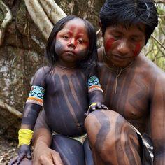Kayapós, native brazilian - (by Martin Schoeller)